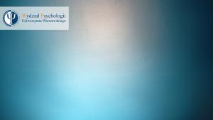 Tło do Zooma - niebieskie, gładkie tło z logotypem
