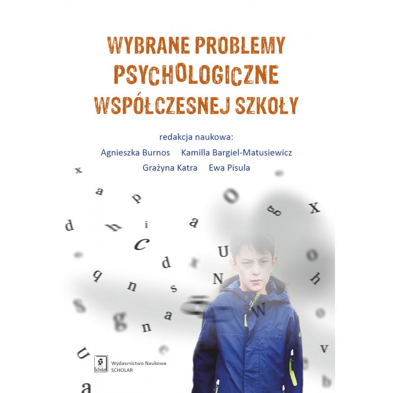 okładka wybrane problemy psychologiczne współczesnej szkoły
